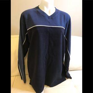 Men's Shank Jeans Navy/Blue V-Neck Top